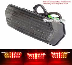 Brake Light Splitter E Marked Tail Brake Turn Signals Integrated Led Light W