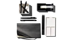office accessories modern. Poppin\u0027s Little Black Desk Set Office Accessories Modern H