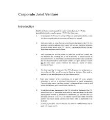 Contract Agreement Template Between Two Parties Printable Joint Venture Agreement Template Sample Business