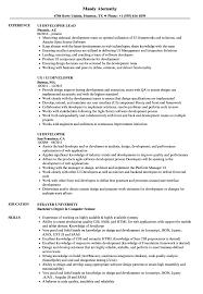 Ui Developer Resume UI Developer Resume Samples Velvet Jobs 14