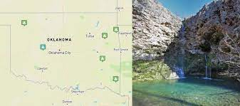 Includes text, list to points of interest and ill. 7 Best Oklahoma State Parks With Nearby Camping