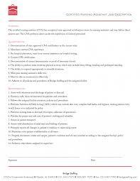 registered nurse skills list nursing supervisor job description resume list cna duties entry