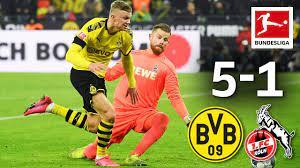 Fc köln) right footed shot from outside the box is blocked. Borussia Dortmund Vs 1 Fc Koln I 5 1 I Haaland S Record Goals More Youtube