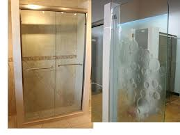 glass shower door decals furniture etched glass shower doors throughout etched glass shower doors prepare from