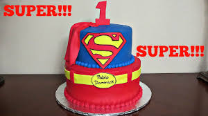 Superman Fondant Cake Design How To Make A Superman Fondant Logo