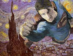 van gogh for it creating work in his style worth1000 tutorials classic paintingsstarry nightswork