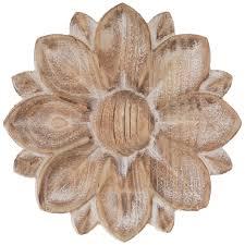 rustic flower wood wall decor hobby