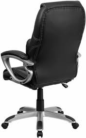 contemporary leather high office chair black. Contemporary High Back Office Chair With Massage [BT-9806HP-2-GG] Leather Black