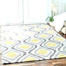 teal and yellow rug gray area melrose r