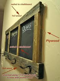 coat rack ideas free chalk board plans standing