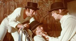 looking back at a clockwork orange den of geek its design had an immediate impact on contemporary culture the central image of a trussed up malcolm mcdowell his eyes prised open one of the most