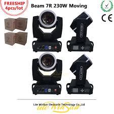 <b>Litewinsune 4PCS FREESHIP</b> Sharp Beam 230W Moving Head ...