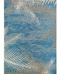 hawaiian area rugs tropical palms blue gray beige indoor outdoor rug inspired