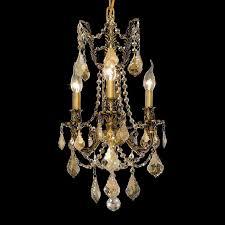 elegant 9203d13fg gt rc rosalia traditional golden teak crystal french gold miniature chandelier loading zoom
