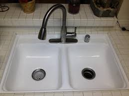 Remove Stains From A Porcelain Sink  Specialized Refinishing CoReglazing Kitchen Sink