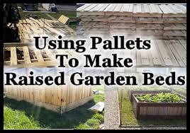how to make raised garden beds. Using Pallets To Make Raised Garden Beds, Container Gardening, Pallet, How Beds