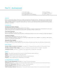 Resume Pca Designs