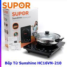 SIÊU CHẤT LƯỢNG] Bếp điện từ Supor Sunshine cảm ứng SDHC16VN-210