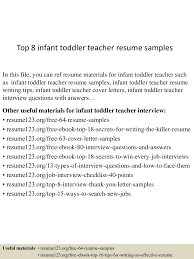 Infant Teacher Resume Top224infanttoddlerteacherresumesamples22450522242242422452245lva224app622492thumbnail24jpgcb=2242432224222242243 10