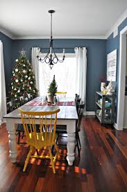 Holiday Home Tour Dining  Kitchen Dining Room Decorating And - Formal farmhouse dining room ideas