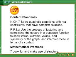 mathematical practices 7 look for and make use of structure
