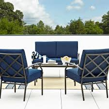 Grand Resort Patio Furniture Kmart Fairfax 4pc Seating Set
