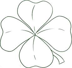 Small Picture How to Draw Four Leaf Clover Coloring Page NetArt