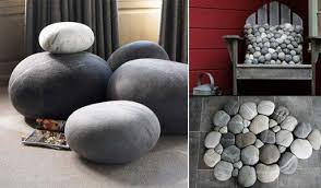 Felted Wool Stones by Ronel Jordaan