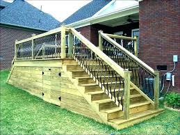 exterior stair railings posts metal deck decking railing post hand rails for decks e76