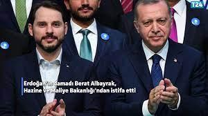 Berat Albayrak, Hazine ve Maliye Bakanlığı görevinden istifa etti! -  Dailymotion Video