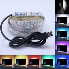 5v Usb 5050 Rgb Led Strip Light Flexible Lighting Tv Background
