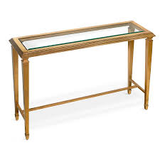 gold console table. ANTIQUE GOLD LEAF CONSOLE TABLE WITH GLASS TOP Gold Console Table T