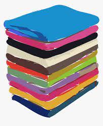 Clipart - Folded Clothes Vector Png, Transparent Png - kindpng