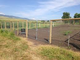 wire farm fence. Woven Wire Fence Horse Farm