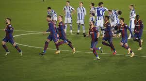 Реал Сосьедад Барселона - видео обзор матча и серии пенальти