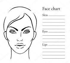 gezicht make up clipart makeup artist face charts make up artist cosmetics