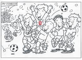 Leuk Voor Kids Sport Voetbal Kleurplaten Pertaining To Alle Idee