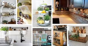 23 neat clutter free kitchen countertop ideas to keep your kitchen in tip top shape