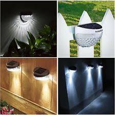 outdoor garden lighting. SOLAR POWERED FENCE LIGHTS WALL DOOR STEP SMD LED LIGHT OUTDOOR GARDEN LIGHTING Outdoor Garden Lighting E