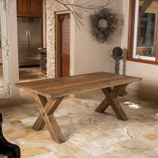 Jackson Solid Wood Dining Table  Reviews Joss  Main - Solid wood dining room tables