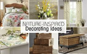nature inspired home décor ideas