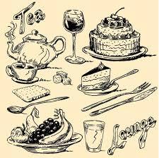 Vintage Illustrations Hand Drawn Vintage Food Illustrations Vector 02 Free Download