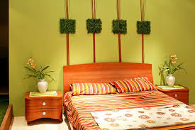 use interesting feng shui colors for comfy bedroom with wooden bed and nightstands on laminate flooring apply feng shui colour