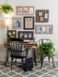 Idea decorating office Stylish Transform Any Space Into Trendy Command Center With Versatile Wall Frames Office Decor Pinterest 159 Best Office Decor Images In 2019 Hobby Lobby Office Decor