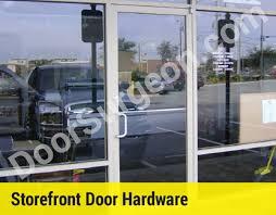 commercial door handle hardware repair