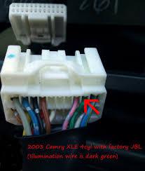 2002 camry jbl wiring 2002 image wiring diagram aftermarket radio install tip gen5 2003 camry utilizing on 2002 camry jbl wiring