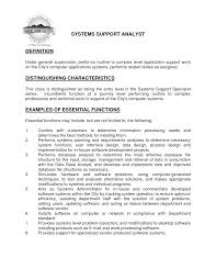 Application Support Analyst Cover Letter Sample Livecareer