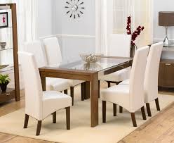 round glass dining table with 6 chairs room ideas regard to plans 17