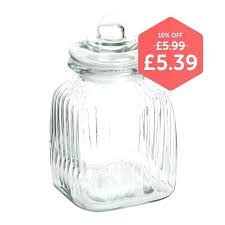 square glass jar small with stopper jars wooden lids