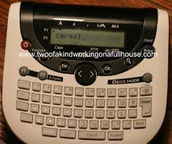 Organization For Kitchen Brother P Touch Label Maker Kitchen Organization Two Of A Kind